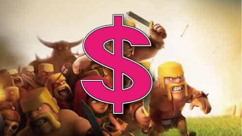 スーパーセルの日商6億円
