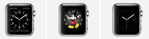 applewatch時計デザイン