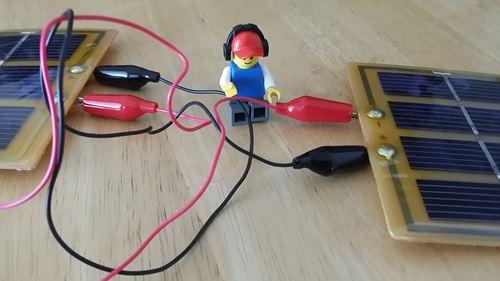 自作ソーラー充電