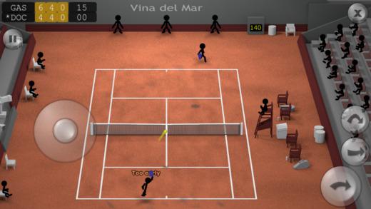 棒人間テニス