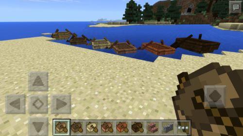 カラフルなボート