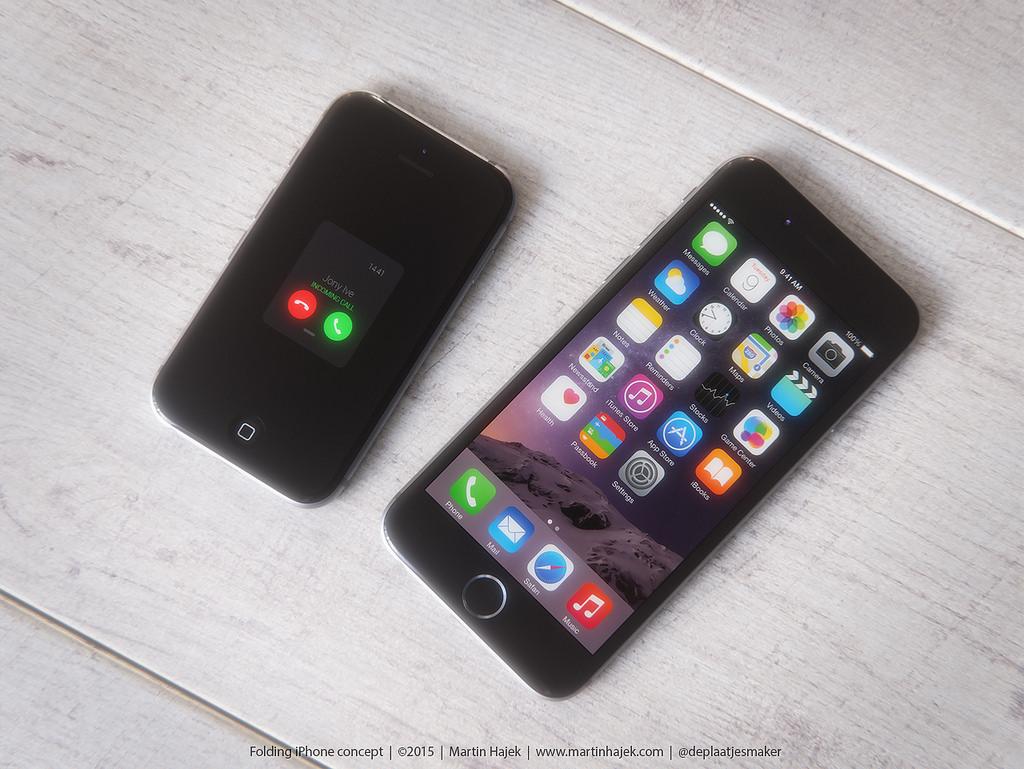 iphone6と'サイズ比較