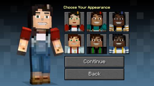 キャラクターを選択