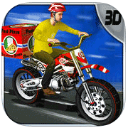 Pizza Biker Rush 3d