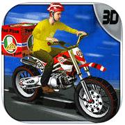 Pizza Biker Rush 3d