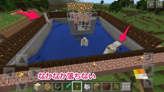 【Minecraft】鉄ザックザク!アイアンゴーレムトラップ製鉄所の ...