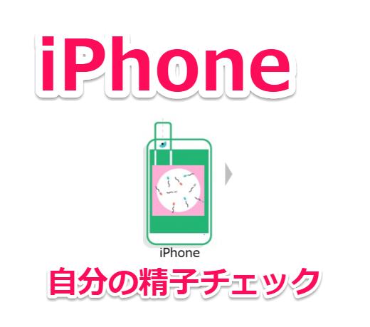 iPhoneのカメラを使って自分の精子が元気かアプリでセルフチェックできる「Seem」(シーム)キット