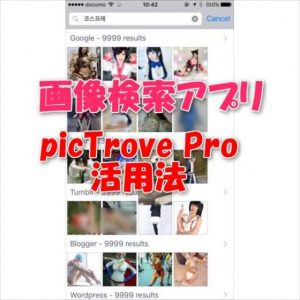 【iPhone/Android】画像検索アプリ『picTrove Pro』と『Google翻訳』コンボで世界中の美少女写真を現地語で探す方法【レビュー】