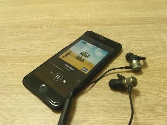 お洒落なメタルボディで8時間連続可能なBluetoothイヤホン『AUKEY EP-E1』【レビュー】