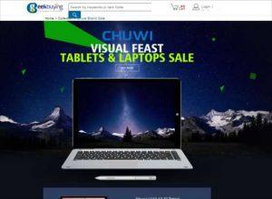 【Geekbuying】中華タブレットメーカーChuwiブランドのノートPC,タブレットが激安セール【クーポンあり】