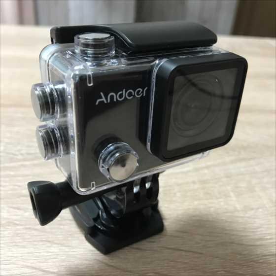 低価格で豊富なマウント類が付属した高性能アクションカメラ『Andoer AN5000』【実機レビュー】