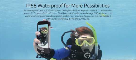 夏のサブ機に欲しい!最高ランクの防塵・防水性能IPS68採用のSIMフリー中華スマホ『NOMU S30 Mini』【端末レビュー】