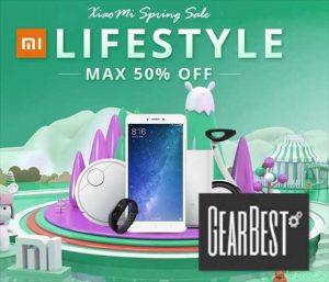 家電からスマホまでXiaomi製品が安い「Xiaomiスプリングセール」開催【GearBest】