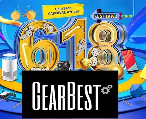 【Gearbest】初日はZenFone 5が目玉!恒例のビックセール「6月大セール」開始!
