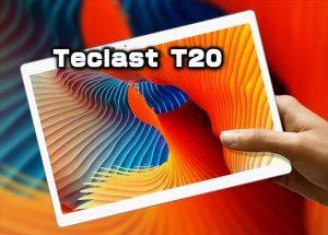 【$20オフ】SIMが挿せる10インチタブレット「Teclast T20 」発売!性能・カメラ・スペックレビュー