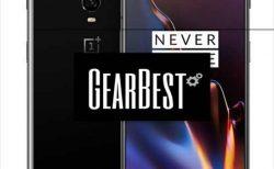 【フラッシュセール$649.99】GearBestで「Oneplus 6T」取り扱い開始!