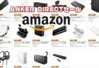 薄型モバブー「Anker PowerCore Lite 10000」が¥2,399ほかAnkerDirect 製品が特選タイムセール【Amazonセール】