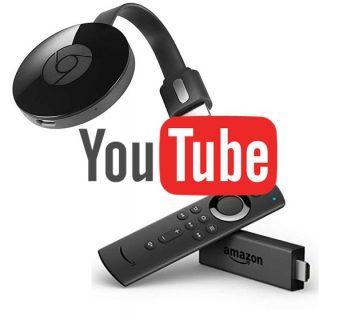 【オート広告動画カット】テレビでYouTube動画を見るなら「Fire TV(Stick)」より「Chromecast」が便利!