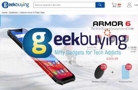 【$100オフ】国内3キャリア対応!UVセンサー搭載アウトドア端末「Ulefone Armor 6 」【Geekbuyingセール】