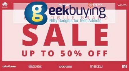 【Geekbuying】モバイルブランドセール開催!Snapdragon 855搭載ニューモデル「Xiaomi Mi 9」が$599.99ほか