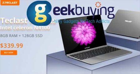 【Geekbuying】エントリーノート「Teclast F7 Plus」が更に値下げ$434.99→$339.99ほか