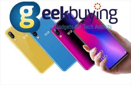 【Geekbuying】新発売のエントリーモデル端末「Elephone A6 Mini 」が約半額の$99.99ほか