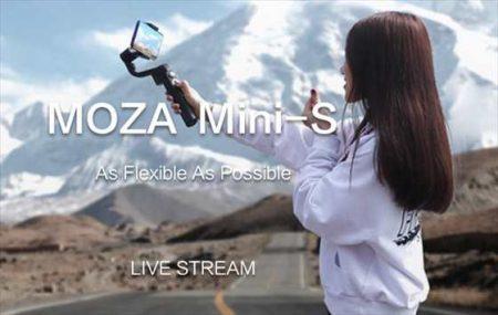 新製品!スマートホン向け本格3軸ジンバル「MOZA Mini-Sスタビライザー」価格・スペックレビュー【TOMTOPセール】