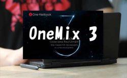 「One-Netbook OneMix 3」の商品画像が届きました