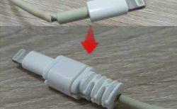【ダイソー】断線したライトニングケーブルの修理や断線防止用「プロテクトカバー」レビュー