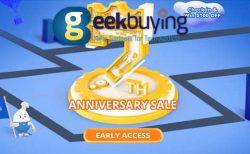【Geekbuying】毎日チェックインで100ドルゲット!7周年記念イベント・セール開催中