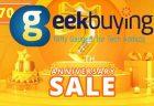 【Geekbuying】200ドル以上のスマホ購入で10%オフ!7周年記念イベント・セール開催中