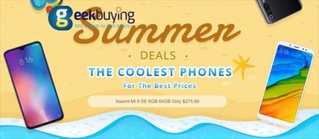 【Geekbuying】「Xiaomi Mi 9 SE」が 47%オフ$275.99ほか!7周年記念セール開催中