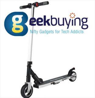 【Geekbuying】日本倉庫発送の電動キックボード「メガホイールS1-2」が激安$209ほか