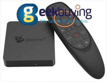 【Geekbuying】テレビでの動画視聴に最適なミニTVボックス「Beelink GT1 MINI-2」が激安$76ほか