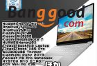 【BangGood最新クーポン】Core-i3搭載15.6型ラップトップ「Tbook X9 Laptop」が$339ほか