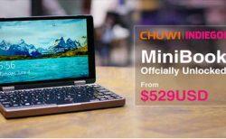 残り1週間20%オフ¥55,516!ChiwiのUMPC「MiniBook 」