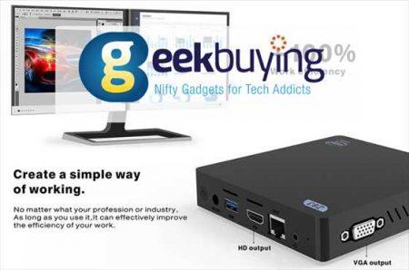 【Geekbuying】超小型WindowsミニPC「Z83V」が99ドル!ほか