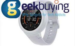 【Geekbuying】Xiaomi新型スマートウォッチ「Xiaomi Amazfit Huami Verge Lite」が83.99ドル!