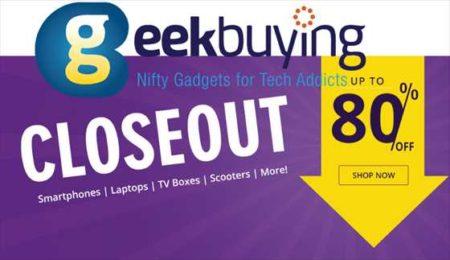 【Geekbuying】最見切り品セール!人気の「Xiaomi Mi 9T PRO」が$384ほか!