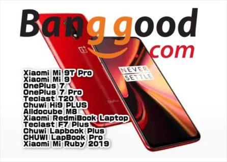 【BangGoodクーポン】週末セールで「OnePlus 7(8GB+256GB)」が$ 432.99ほか【9月14日版】