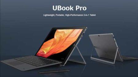 【事前登録で25%オフ】CHUWI新2in1 パソコン「UBook Pro」が「Indiegogo」に登場!