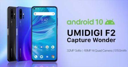4800万画素4眼カメラ+Helio P70搭載の低価格端末「UMIDIGI F2」発売!スペックレビュー