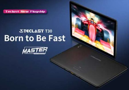 ミドルアッパーレンジ10.1型タブレット「Teclast T30」発売