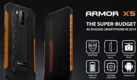 99ドルのアウトドア端末「Ulefone Armor X5 」発売!性能・カメラ・スペックレビュー