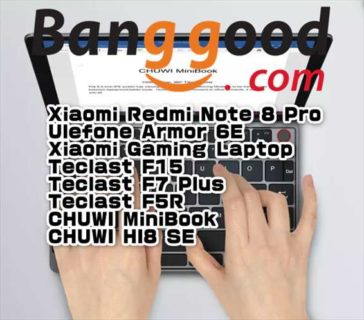 【BangGoodクーポン】廉価版のUMPC「CHUWI MiniBook」$399.99ほか