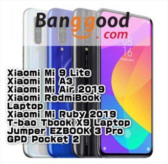 【BangGoodクーポン】「Xiaomi Mi 9 Lite」128GBモデルが最安値$ 279.99ほか【10月28日版】
