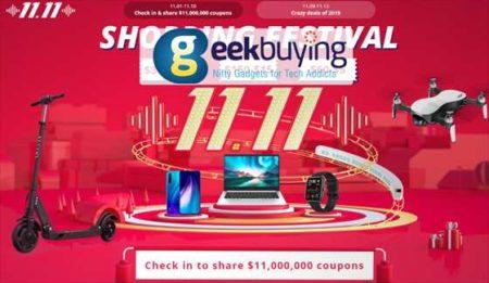 【Geekbuying】11.11独身の日セール「Mi 9T Pro 128GBモデル」が349.99ドルほか