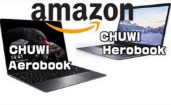 【Amazon内CHUWI公式ショップ】人気ノートPCの2モデルがタイムセールに登場
