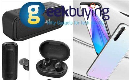 【Geekbuying ブラックフライデー】Tronsmart スピーカー や新型スマートホン登場