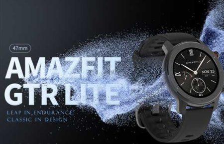 Amazfit GTRシリーズに廉価版モデル「GTR LITE 47mm」が登場!スペックレビュー